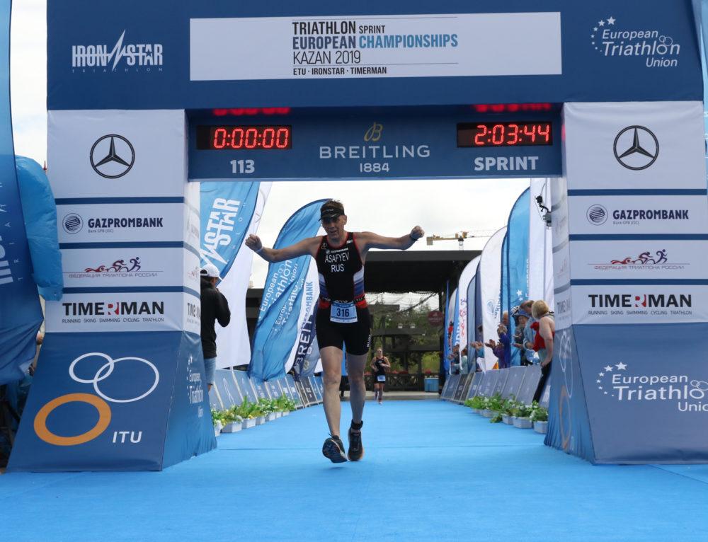 Поздравляем Алексея Асафьева с успешным выступлением на Чемпионате Европы по триатлону!